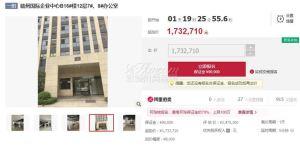 赣州国际企业中心2间商业办公室拍卖,起拍总价约为173万元!